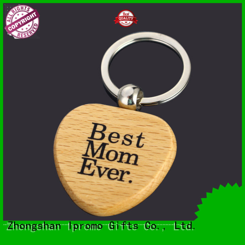Ipromo wooden keychain blanks various sizes for souvenir