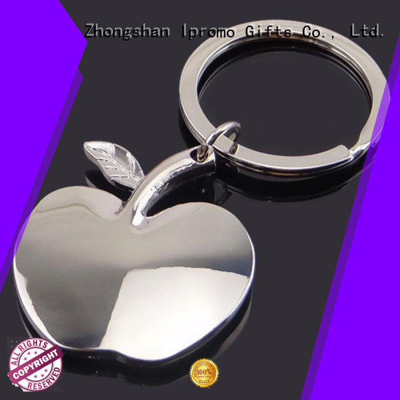 Ipromo metal custom name keychains at discount for activity