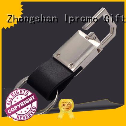 Ipromo fashion baseball leather keychain various sizes for memento