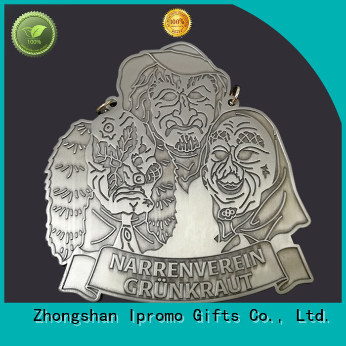 Ipromo zinc alloy medal free design for memento