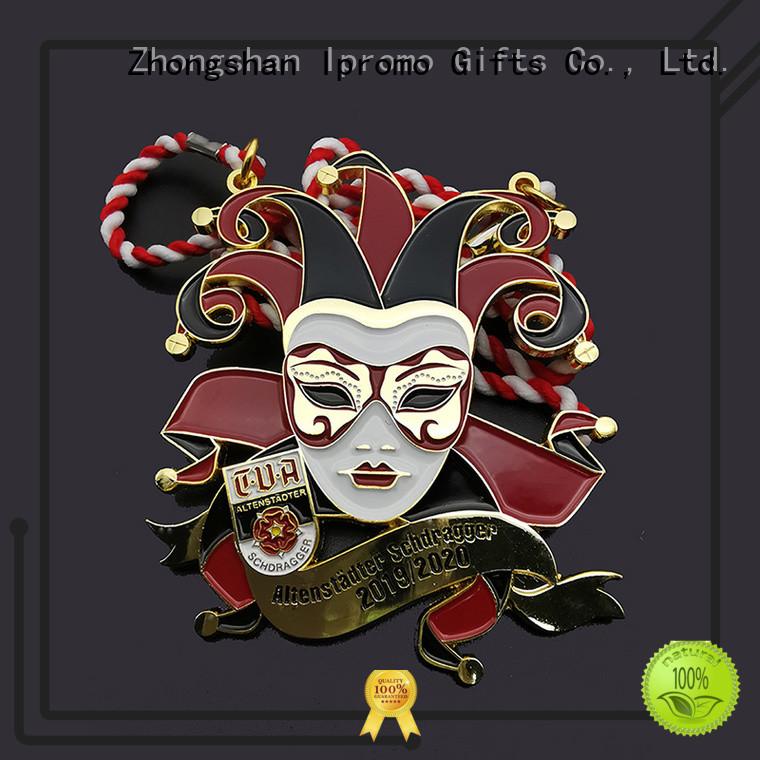 promotional clown medal metal free design for souvenir