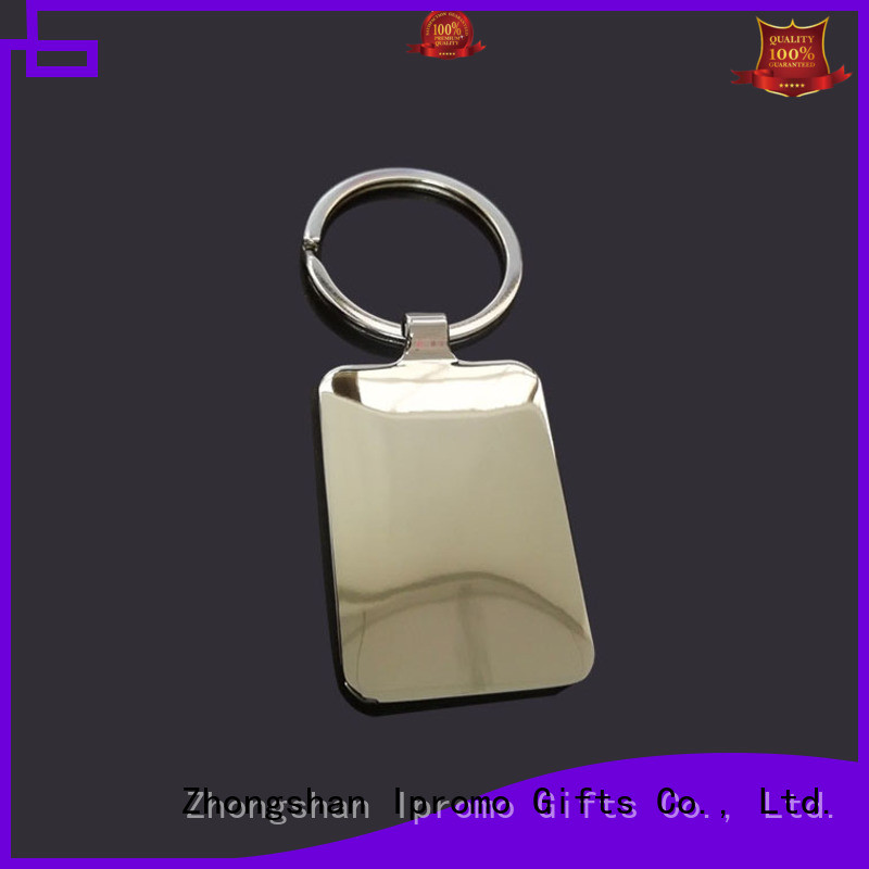 Ipromo blank plastic keyrings for wholesale for party