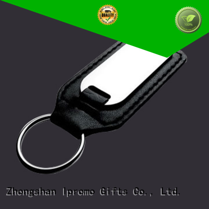 Ipromo wholesale leather keychains type for party