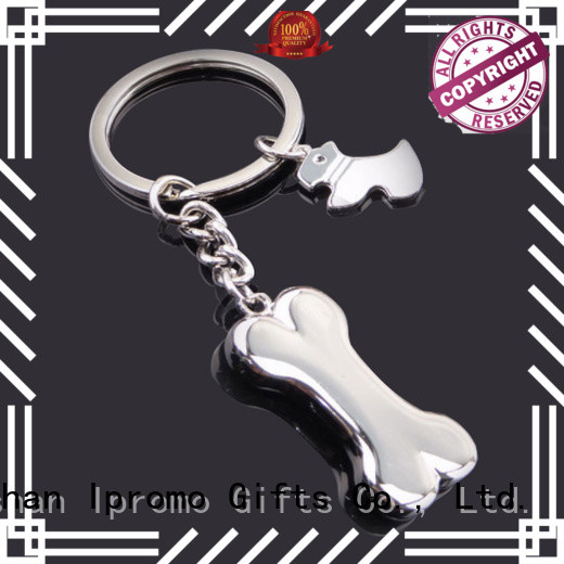 Ipromo cute custom made metal keyrings at discount for gifts