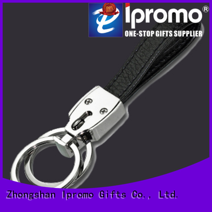 Ipromo personalized leather keychains for him long-term-use for promotion